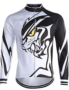 fastcute חולצת ג'רסי לרכיבה לגברים שרוול ארוך אופניים צמרות שמור על חום הגוף עמיד גיזות קלאסי חורף רכיבה על אופניים/אופנייים