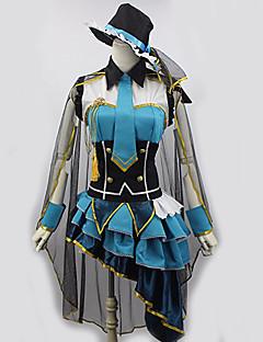 Inspirovaný Love Live Eri Ayase Anime Cosplay kostýmy Cosplay šaty Patchwork Pro Dámské