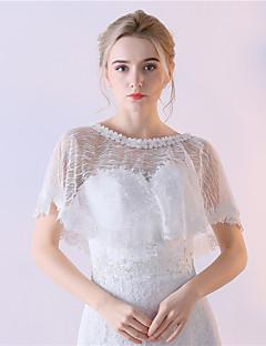 Estolas Femininas Mini Capa Renda Casamento Festa Renda