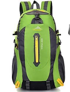 Unisex Tašky Celý rok Nylon Batoh s pro Lezení Vodní modrá Černá Oranžová Rubínově červená Zelená