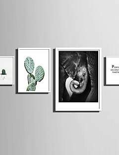 E-HOME® Framed Canvas Art   Simple Natural Scenery And Plant Series (2) Theme Series Framed Canvas Print One Pcs