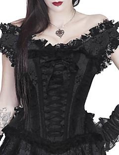 여성 오버버스트 코르셋 잠옷,섹시 푸시 업 Kontor/företag 자카드 면