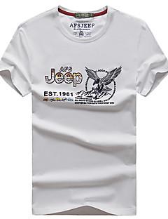 Miesten T-paita vaellukseen Nopea kuivuminen Hengittävä T-paita varten Metsästys Kesä L XL XXL XXXL XXXXL