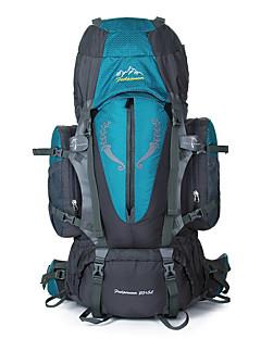 85 L Mochila para Excursão Alpinismo Esportes Relaxantes Acampar e Caminhar Á Prova-de-Chuva Á Prova-de-Pó Respirável Multifuncional