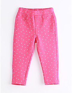 Girls' Casual/Daily Polka Dot Pants-Cotton Spring Fall