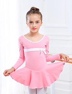 Balet Suknie DZIECIĘCE Trening Bawełna Spandex 1 sztuka Mokasyn