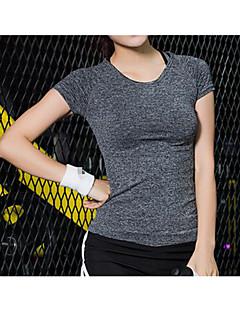בגדי ריקוד נשים טי שירט ריצה כושר, ריצה ויוגה קיץ