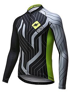 Mysenlan Camisa para Ciclismo Homens Manga Longa Moto Camisa/Roupas Para Esporte Secagem Rápida Respirável Poliéster Primavera Verão