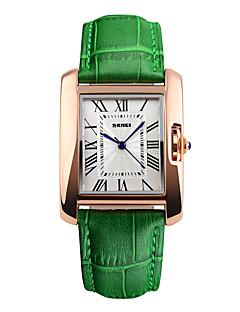 Herrn Sportuhr Kleideruhr Modeuhr Armbanduhr Einzigartige kreative Uhr Chinesisch digital Wasserdicht Echtes Leder Band Bettelarmband