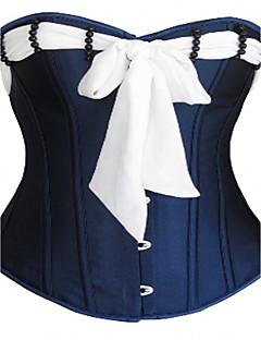 여성 오버버스트 코르셋 잠옷,섹시 푸시 업 보일 & 시어 오가닉 코튼