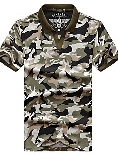 Men's T-shirt Camping / Hiking Breathable Summer