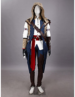 Inspired by Assassin Conner Video Game Cosplay Costumes Cosplay Suits / Cosplay Tops/Bottoms / Hat/Cap / Gloves / Cosplay Accessories
