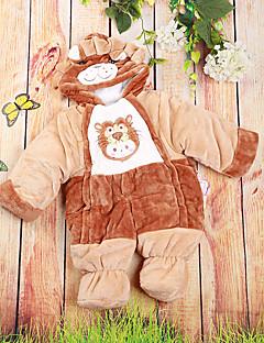bébé Enfant Naissance Coton Décontracté / Quotidien Image de Cartoon Une-Pièce,Dessin Animé Hiver