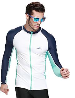 SBART 男性用 夫婦 ウェットスーツ エラステイン ナイロン 潜水服 長袖 ダイビングスーツ トップス-ウォータースポーツ ダイビング サーフィン オールシーズン プリント