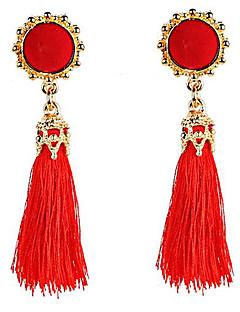 Danse du ventre Bijoux Femme Spectacle Polyester 2 Pièces Boucles d'oreille