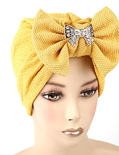 Women's Fashion Bow Solid Floppy Bucket  Turban Hat & Cap
