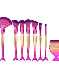 8шт Наборы кистей Синтетические волосы