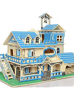 3D-puslespill Puslespill Leketøy Kvadrat Hus 3D Uspesifisert Deler