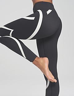 Dames Gestreept Kanten stiksel,Legging
