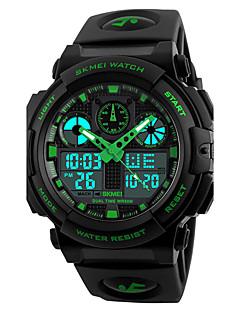 SKMEI Pánské Sportovní hodinky Vojenské hodinky Módní hodinky Náramkové hodinky Digitální hodinky japonština KřemennýLED Kalendář