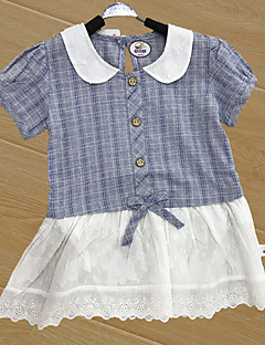 bébé Enfant Naissance Coton Baptême Tartan Fleur Une-Pièce,Fleur Toutes les Saisons