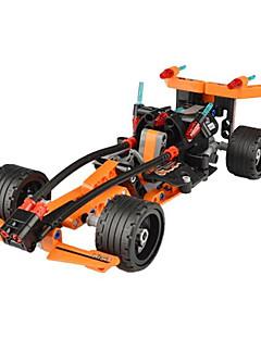 DHZ-kit Bouwblokken Educatief speelgoed Terugtrekauto/Inertie-auto Voor cadeau Bouwblokken Automatisch Kunststoffen Acetaat/plastic6 jaar