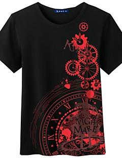 Inspirovaný Date A Live Cosplay Anime Cosplay kostýmy Cosplay T-shirt Komiks Krátký rukáv Vrchní deska Pro Unisex