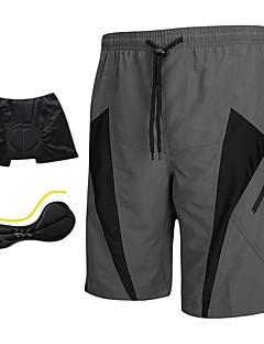 SANTIC Pantaloni Scurți cu Burete Bărbați Bicicletă Pantaloni scurți Pantaloni Scurți Padded Pantaloni Uscare rapidă Purtabil Respirabil