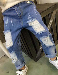 Girls' Solid Pants Spring Fall