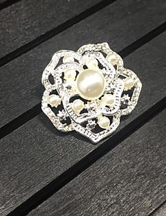 Damen Mädchen Broschen Blumen Aleación Rose Schmuck Für Hochzeit Party Alltag