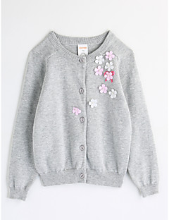 Mädchen Bluse Blume Baumwolle Herbst Lange Ärmel