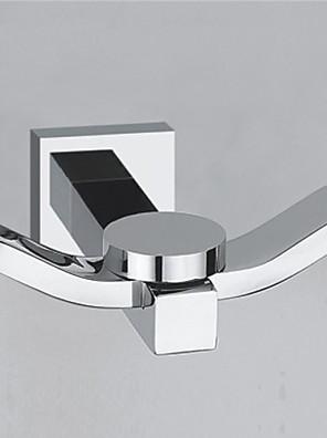 "YALI.M®,Robe Hook Chrome 40 x 77 x 72mm (1.7"" x 3.24"" x 3.0"") Brass Contemporary"