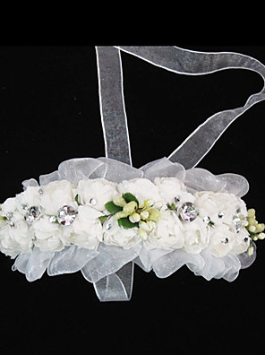 Flower Girl's Tulle / Paper Headpiece-Wedding / Special Occasion / Casual Headbands