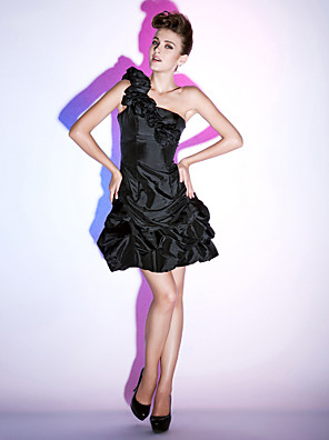TS Couture® Cocktail Party / Homecoming / Holiday Dress - Little Black Dress / ShortApple / Hourglass / Inverted Triangle / Pear / Rectangle / Plus