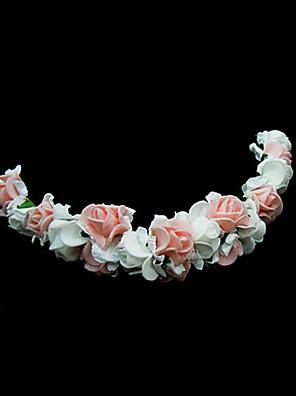 Femme / Jeune bouquetière Mousse Casque-Mariage / Occasion spéciale Fleurs