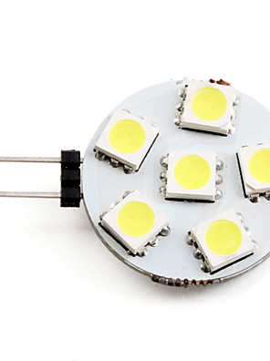 Ampoule LED Spot Blanc Naturel (12V), G4 2-2.5W 6x5050 SMD 60-70LM 6000-6500K