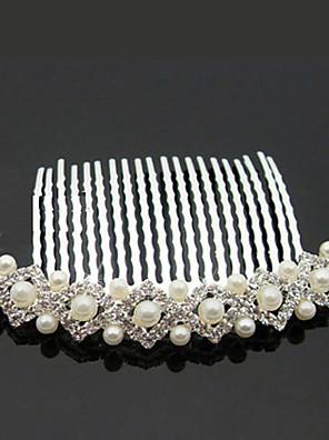 נשים סגסוגת / דמוי פנינה כיסוי ראש-חתונה / אירוע מיוחד / חוץ מסרקי שיער