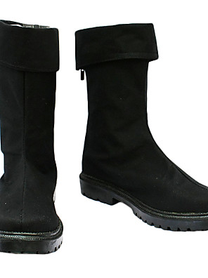 zoro chaussures cosplay de velours