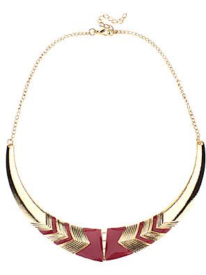 Gylden Choker-halskæde / Vintage Halskæder Legering Smykker