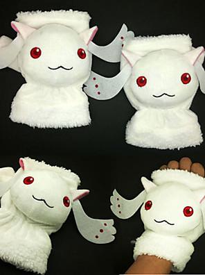 Rukavice Festival/Svátek Halloweenské kostýmy Bílá Halloween / Karneval / Nový rok / Den dětí Unisex Polyester
