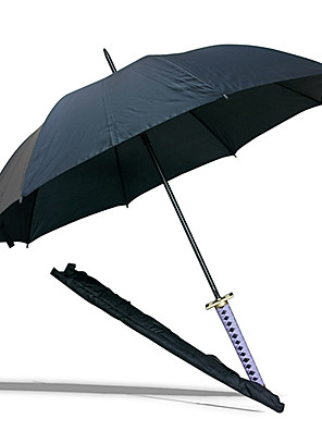 Zanpakutau Senbonzakura Black Samurai Sword Umbrella