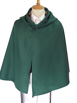 קיבל השראה מ Attack on Titan Erwin Smith אנימה תחפושות קוספליי חולצות קוספליי / תחתון אחיד ירוק שרוולים ארוכיםמעיל / חולצה / מכנסיים /