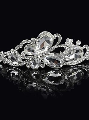Mujer Diamantes Sintéticos / Aleación Celada-Boda / Ocasión especial Tiaras Como la foto