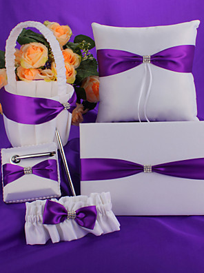Purple Bow Wedding Collection Set (5 db)