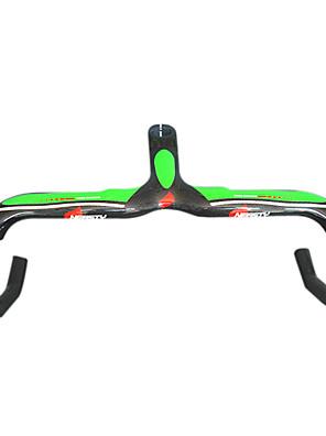 Moto Guiador Bicicleta de Estrada Verde / Preta Completamente em Carbono