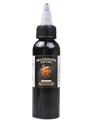 dragonhawk® dragonhawk tetováló festék 1 csomag fekete színű 2 unciás üveg színes tinta