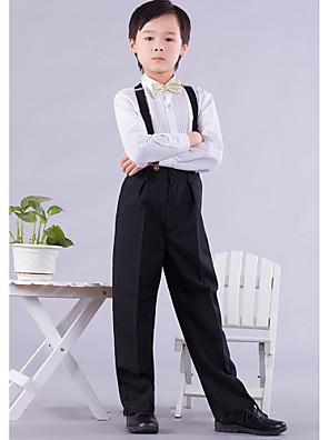 תערובת פוליאסטר / כותנה חליפה לנושא הטבעת - 4 חתיכות כולל חולצה / מכנסיים / עניבת פרפר / בריות