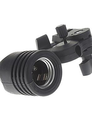 Europese Standaard Lamp-Socket (Zwart)