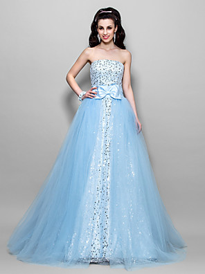TS Couture® Prom / Formal Evening / Quinceanera / Sweet 16 Dress - Sparkle & Shine / Vintage InspiredApple / Hourglass / Inverted Triangle / Pear