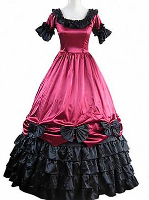 קיבל השראה מ קוספליי קוספליי וִידֵאוֹ מִשְׂחָק תחפושות קוספליי שמלות טלאים קצר שמלה